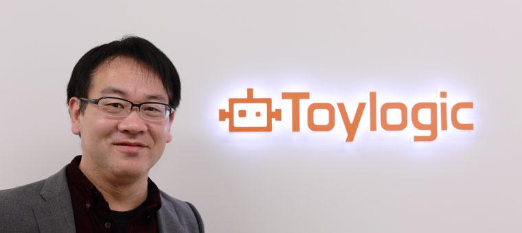 株式会社トイロジック 代表取締役 岳洋一
